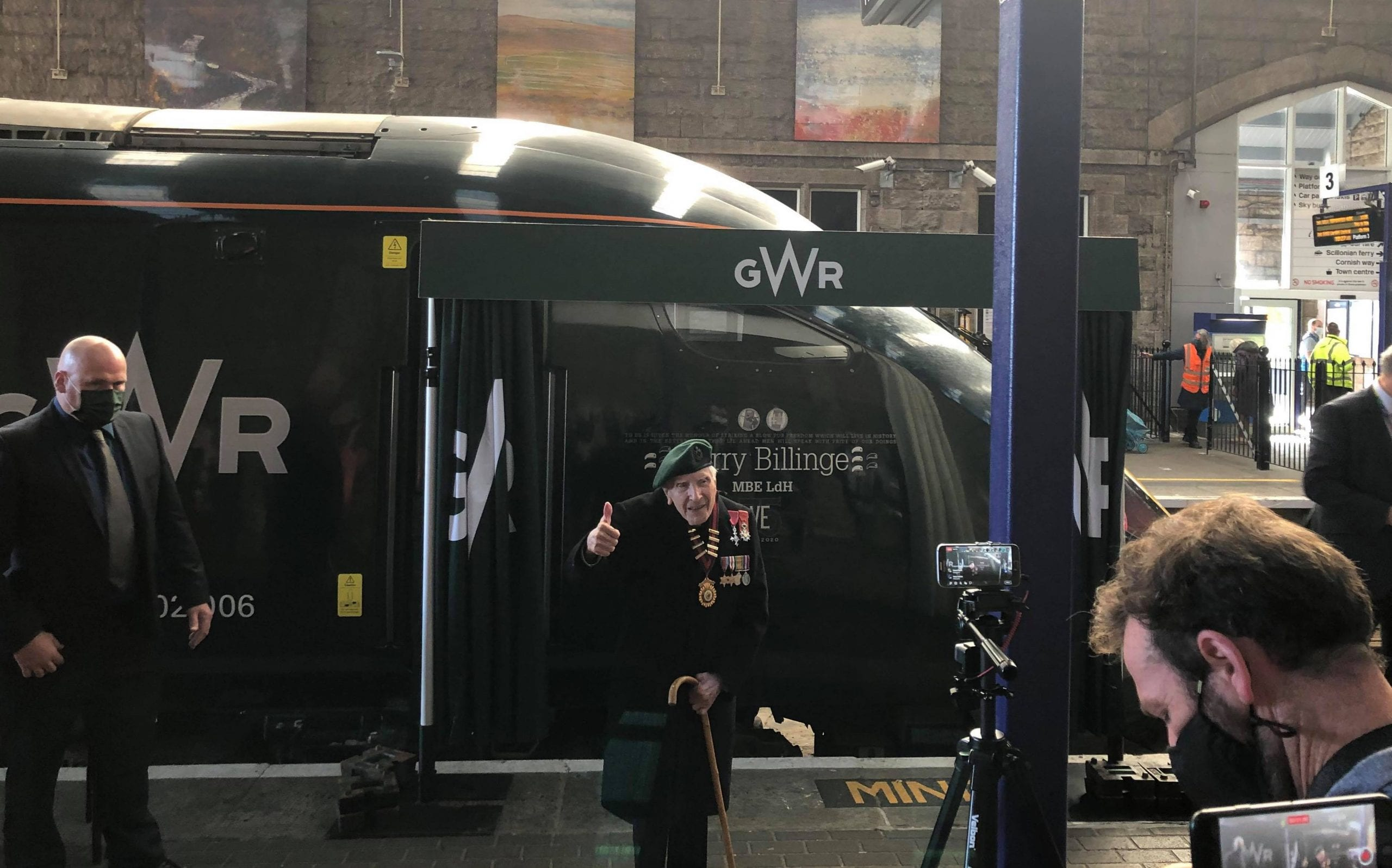Harry billinge and his named train