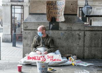 MCF charity homeless man